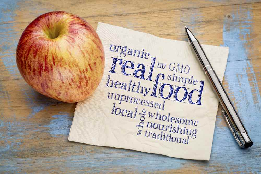 Eat Real Foods