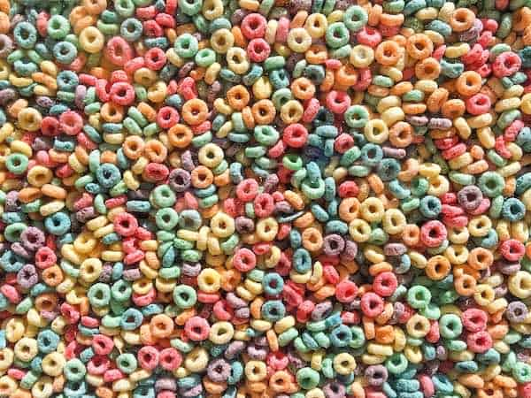 Fattening Carbohydrates - Froot Loops