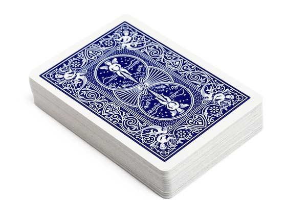 A deck of cards equals to about an ounce of animal protein